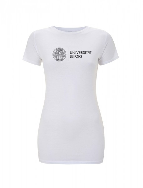 Damen T-Shirt Siegel weiß